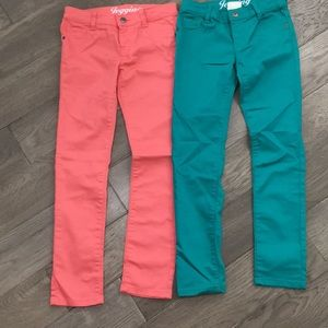 Crazy 8 Jeans - Girls lot of 2 Crazy 8 jegging jeans, like new